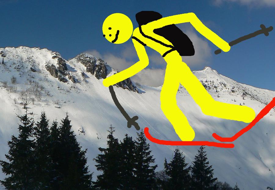 Skialpinizmus - Skialp v traverzoch Krivánskej Fatry  od Chlebu po ... 59be653f4b7