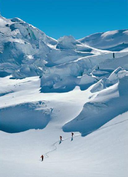 Capana Gnifetti - ľadovec
